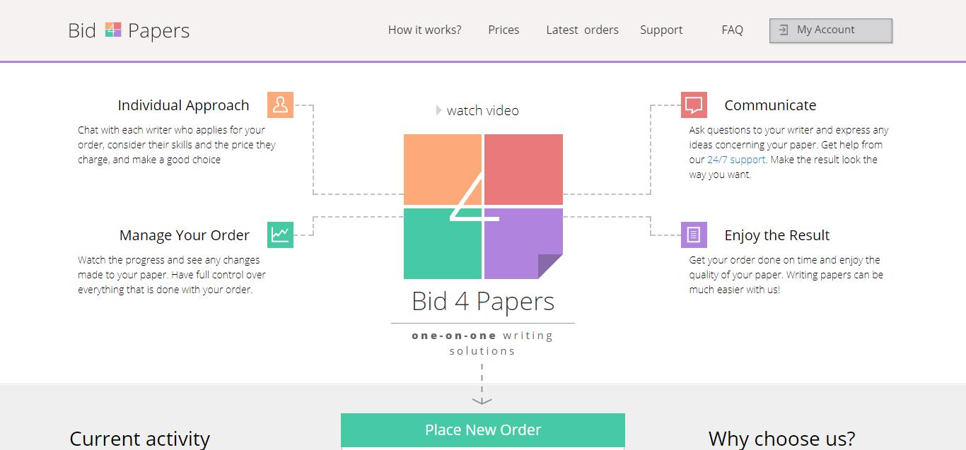 Bid4papers.com Review
